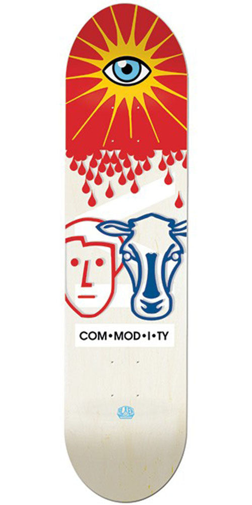 Alien Workshop Commodity - White - 8.25in - Skateboard Deck