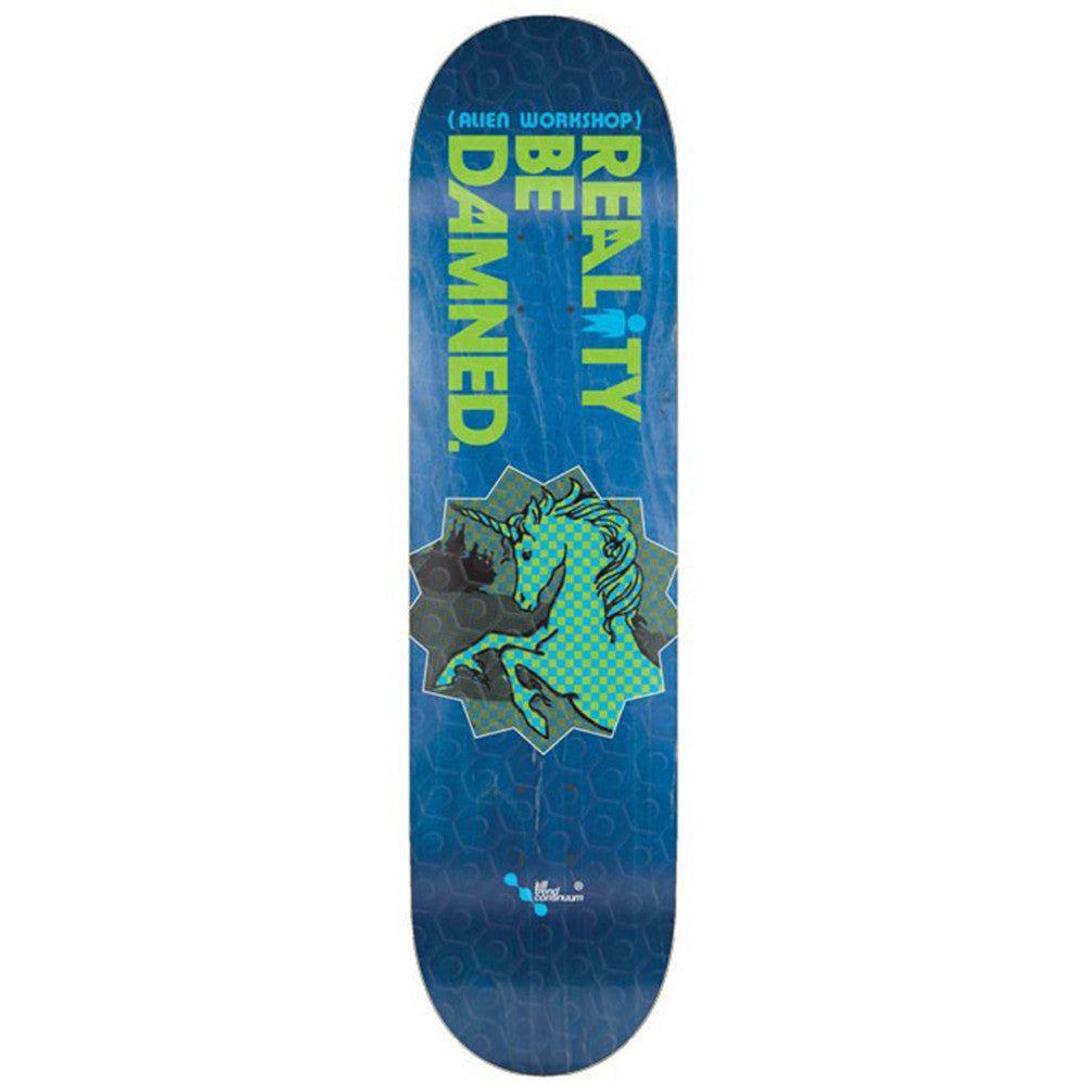 Alien Workshop RBD Unicorn - Blue - 8.125in - Skateboard Deck