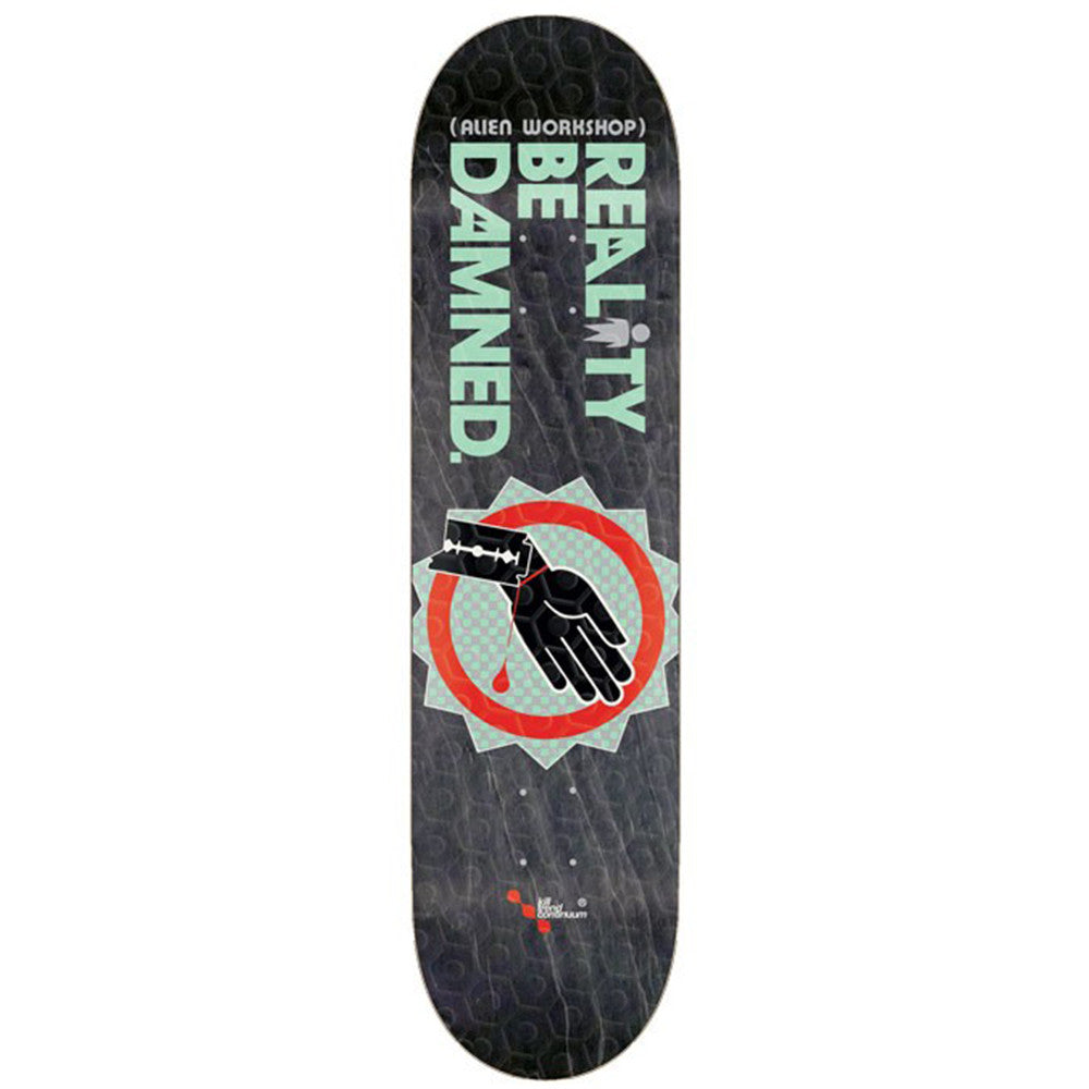 Alien Workshop RBD Wrist Slit - Black - 8.25in - Skateboard Deck