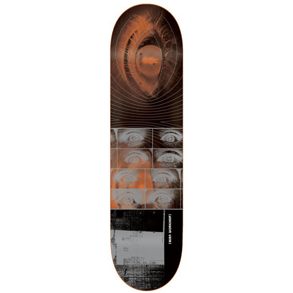 Alien Workshop Give Me Fire Large - Orange/Black - 8.25in - Skateboard Deck