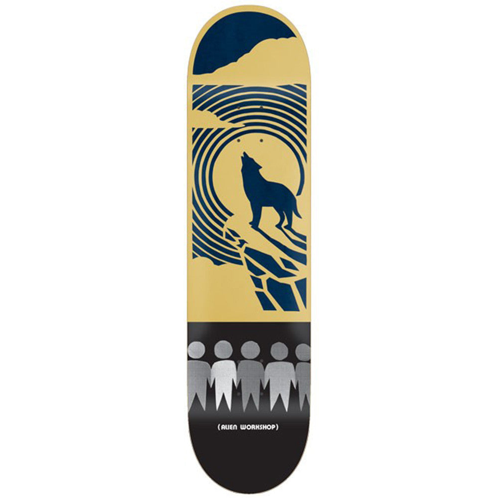 Alien Workshop Papercuts Desert - Tan/Black - 8.5in - Skateboard Deck