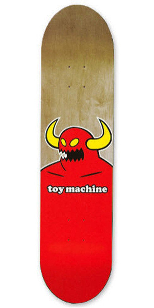 Toy Machine Monster Mini - Red/Assorted 7.25 - Skateboard Deck