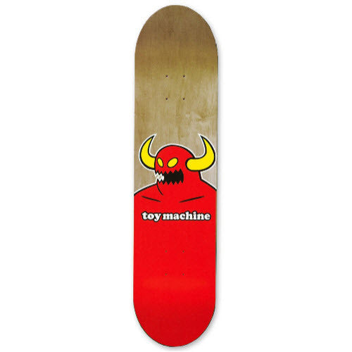Toy Machine Monster XX-Large - Red/Assorted - 9.0 - Skateboard Deck
