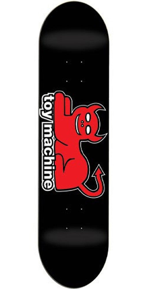 Toy Machine Devil Cat Large - Black/Red - 8.375 - Skateboard Deck