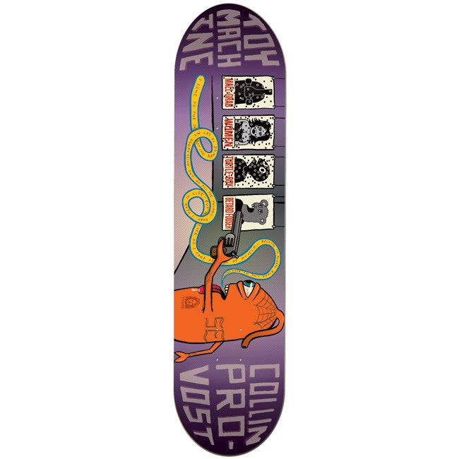 Toy Machine Provost Gun Culture - Purple - 7.875 - Skateboard Deck