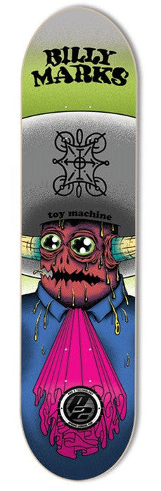 Toy Machine Marks Amigo P2 - Blue/Green - 8.0 - Skateboard Deck