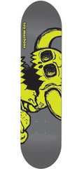 Toy Machine Dead Vice Monster - Grey/Yellow - 7.875 - Skateboard Deck