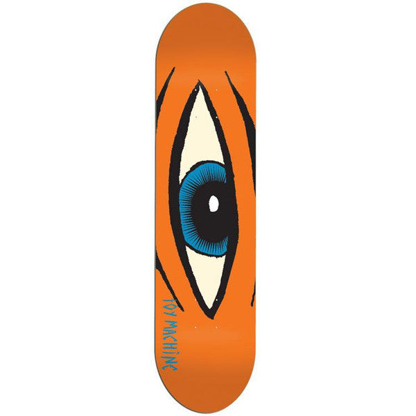 Blemished Toy Machine Sect Eye - Orange - 8.0 - Skateboard Deck