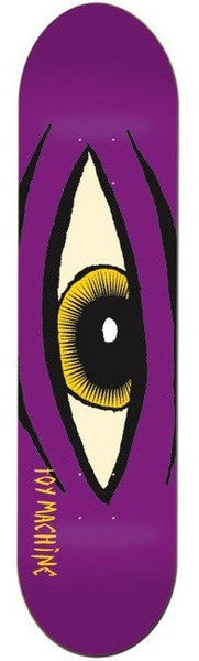 Toy Machine Sect Eye - Purple - 7.87 - Skateboard Deck