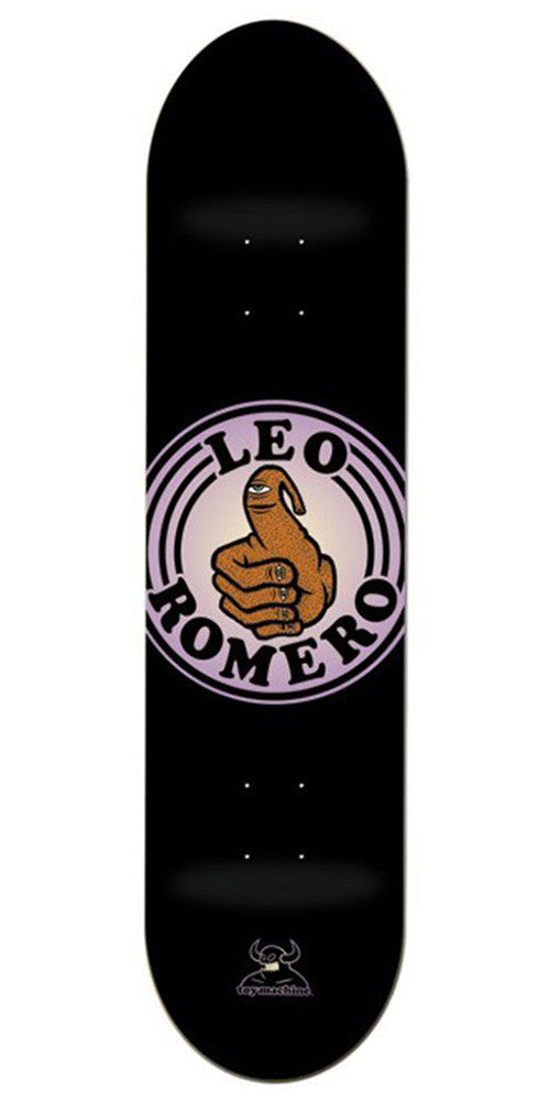 Toy Machine Leo Romero Bromero - Black - 8.25 - Skateboard Deck
