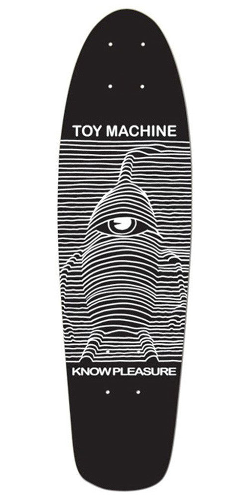 Toy Machine Toy Division Cruiser - Black - 8.25 - Skateboard Deck