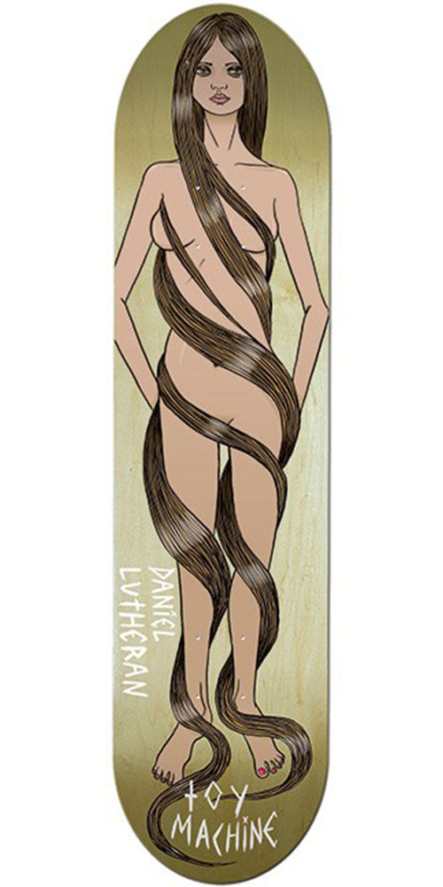 Toy Machine Lutheran Long Hair - Assorted - 8.125 - Skateboard Deck