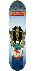 Toy Machine Bennett Metal Head - Blue - 8.5 - Skateboard Deck