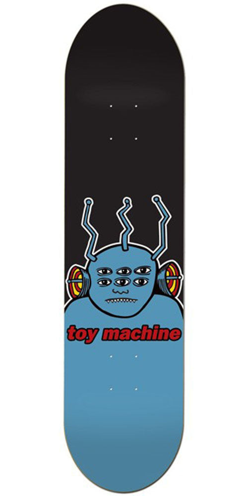 Toy Machine OG Transmissionator - Black/Blue - 8.25 - Skateboard Deck