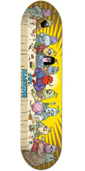 Toy Machine Last Supper - Yellow - 8.0 - Skateboard Deck
