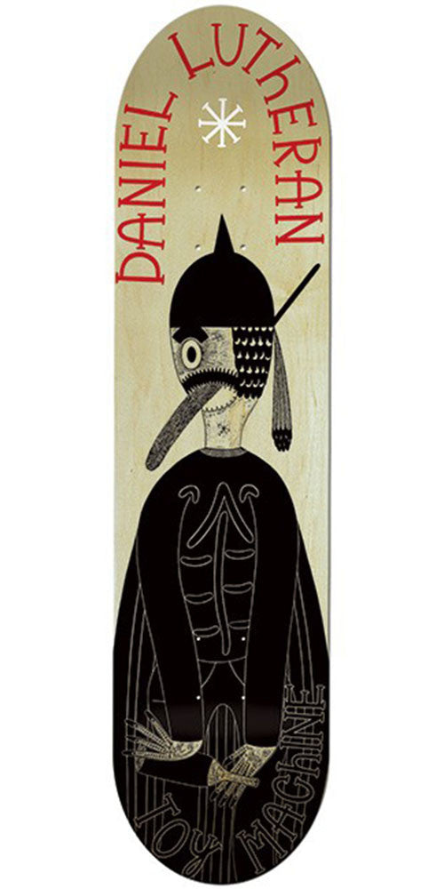 Toy Machine Lutheran Pearce - Natural/Black - 8.375 - Skateboard Deck
