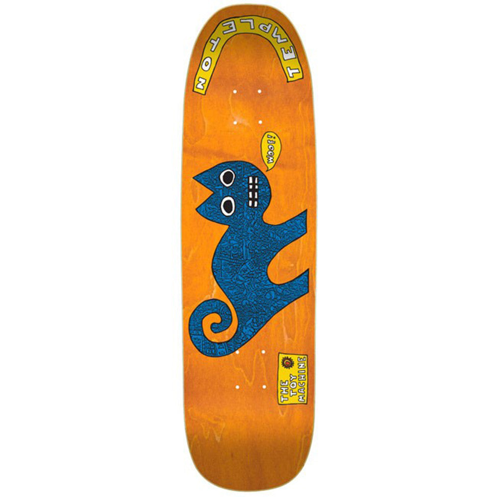 Toy Machine Templeton Cat - Assorted - 8.75 - Skateboard Deck