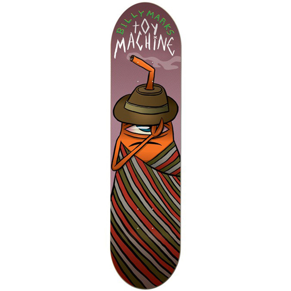 Toy Machine Marks Serape - Multi - 8.0 - Skateboard Deck