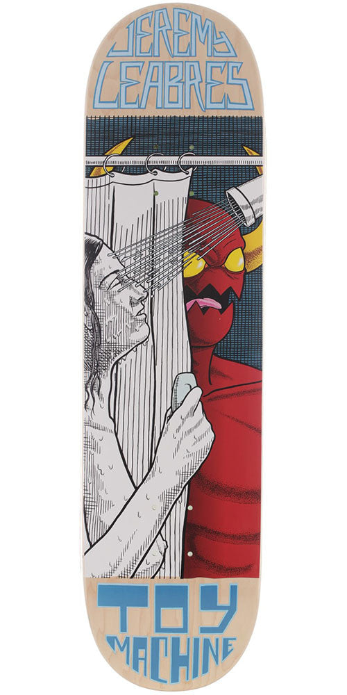 Toy Machine Leabres Peeping Toy - Multi - 8.25in x 31.875in - Skateboard Deck