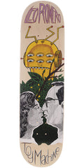 Toy Machine Romero Peeping Toy - Multi - 8.5in x 32.375in - Skateboard Deck