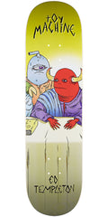 Toy Machine Templeton Last Supper - Multi - 8.375in x 32.28in - Skateboard Deck