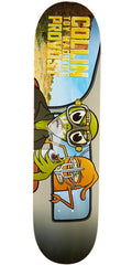 Toy Machine Provost War Turtle - Multi - 8.0in x 32in - Skateboard Deck