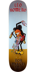 Toy Machine Romero Drunk Mouseketeer - Multi - 8.375in x 32.75in - Skateboard Deck