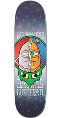 Toy Machine Lutheran Turtle Head - Multi - 8.5in x 32.5in - Skateboard Deck