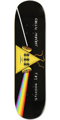 Toy Machine Provost Darkside - Black - 8.375in x 31.75in - Skateboard Deck