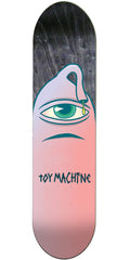 Toy Machine Pink Sect - Pink - 8in x 32.25in - Skateboard Deck