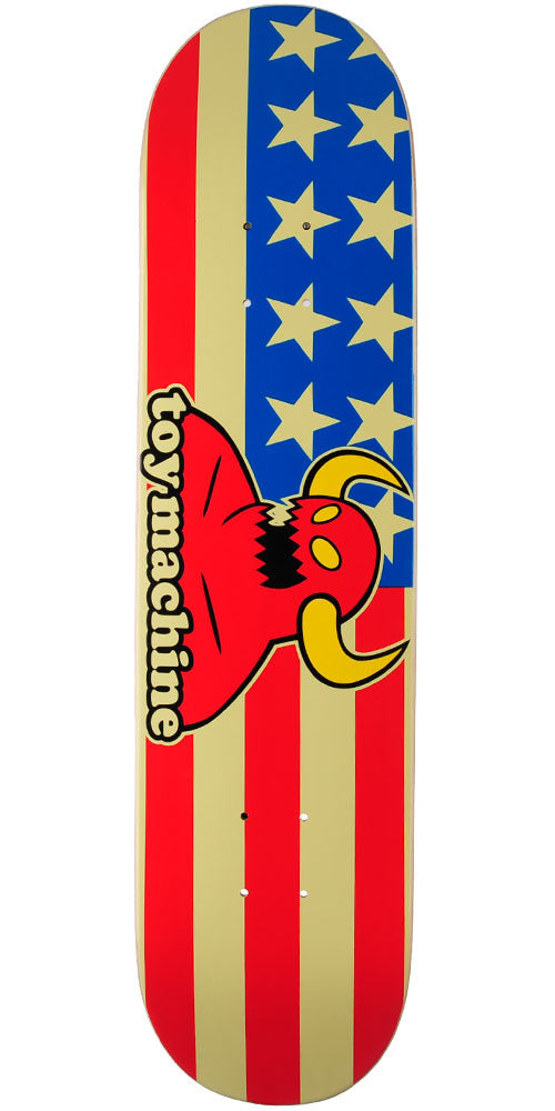 Toy Machine American Monster - Multi - 7.75in x 31.5in - Skateboard Deck