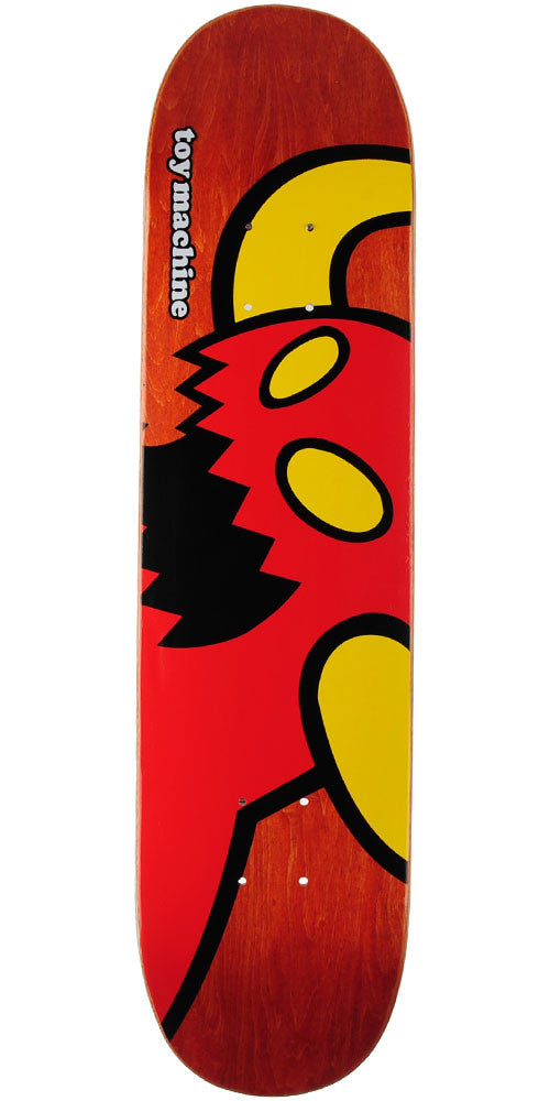 Toy Machine Vice Monster Mini - Assorted - 7.375in x 29.63in - Skateboard Deck