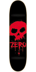 Zero Blood Skull - Black/Red - 7.625 - Skateboard Deck