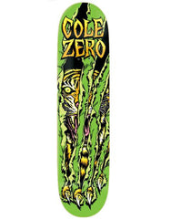 Zero Cole Survival DuraSlick - Green - 7.625 - Skateboard Deck