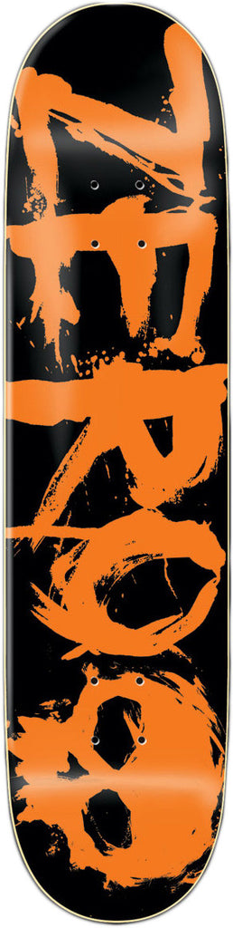 Zero Blood Orange - Black/Orange - 8.0 - Skateboard Deck