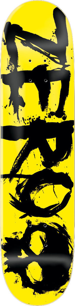 Zero Negative Yellow - Yellow/Black - 7.875 - Skateboard Deck