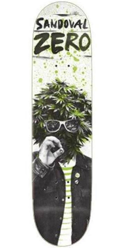 Zero Sandoval Attak - White - 8.25 - Skateboard Deck