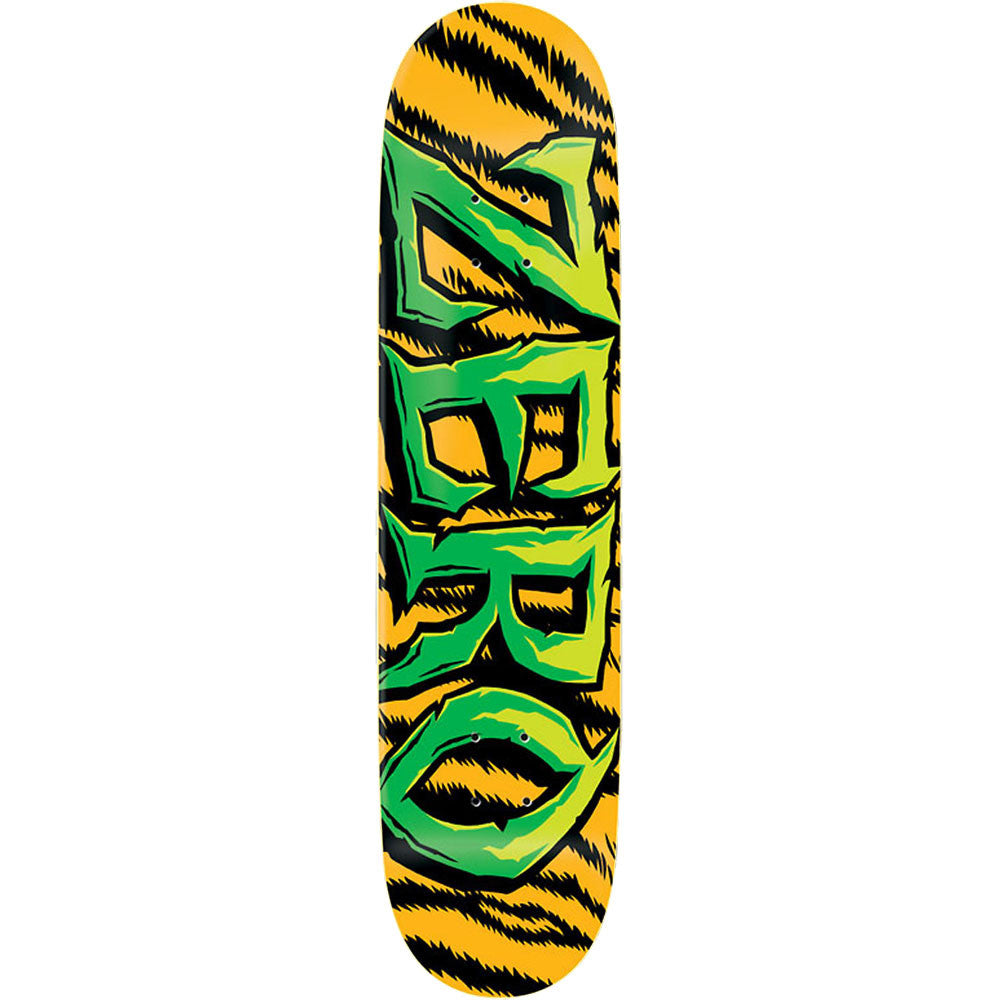 Zero Survival Team DuraSlick - Orange/Green - 8.25 - Skateboard Deck