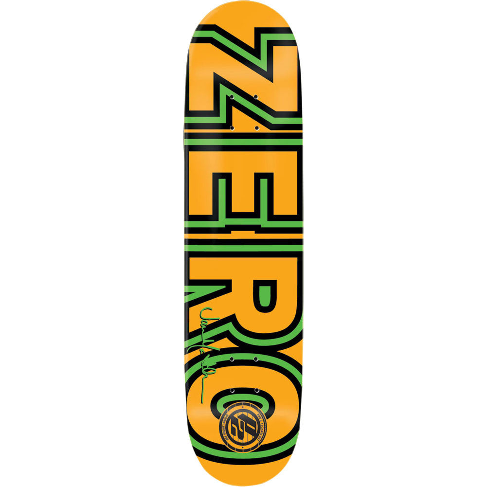Zero Thomas Bold P2 - Green/Orange - 8.25 - Skateboard Deck