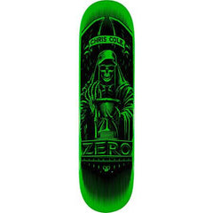 Zero Angel of Death Cole - Green - 8.125 - Skateboard Deck