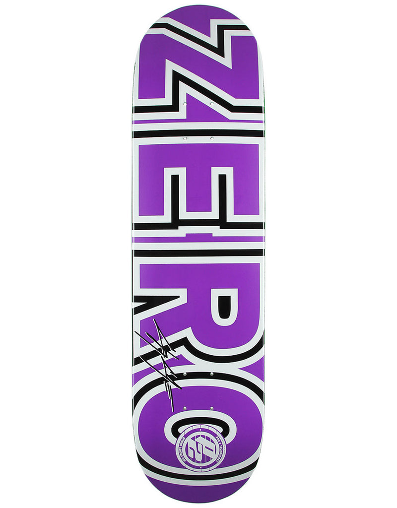 Zero Cole Bold P2 - Green/Purple - 8.5 - Skateboard Deck