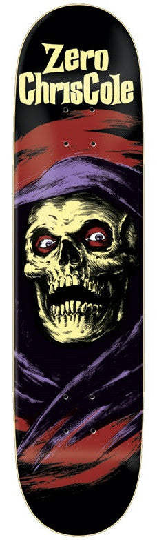 Zero Cole Horror - Black - 8.25in - Skateboard Deck