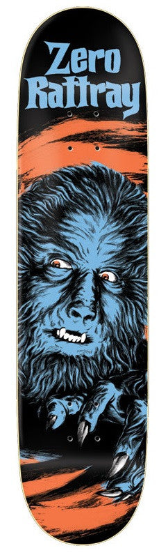 Zero Rattray Horror - Black - 8.125in - Skateboard Deck