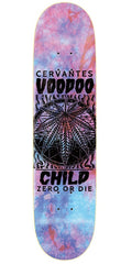 Zero Cervantes Voodoo Child - Tie Dye/Black - 8.0in - Skateboard Deck