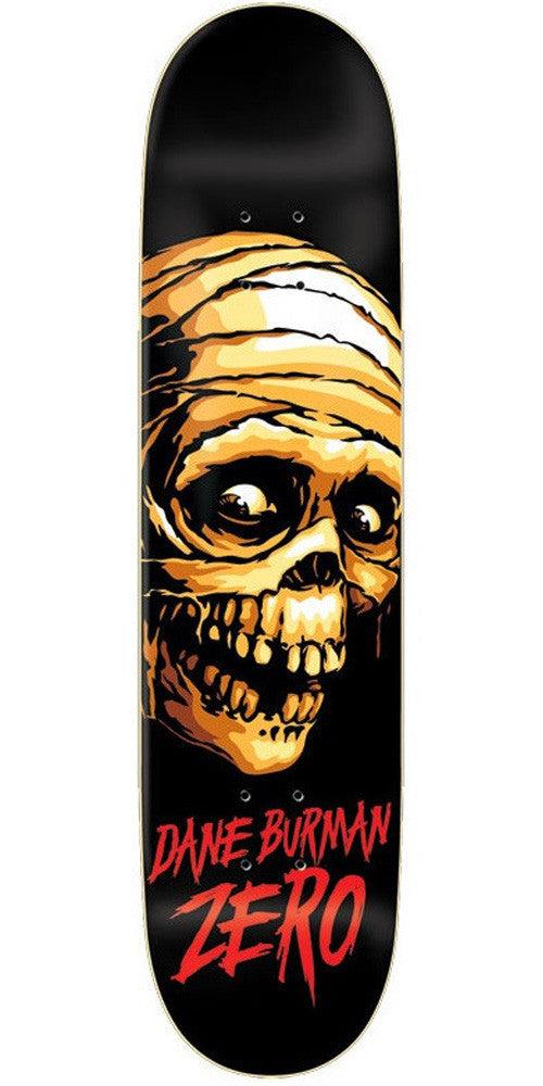 Zero Burman Mummy - Black - 8.125in - Skateboard Deck