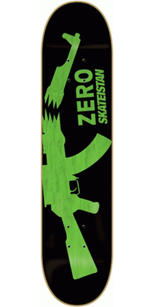 Zero Skateistan Rifle - Green - 8.125 - Skateboard Deck