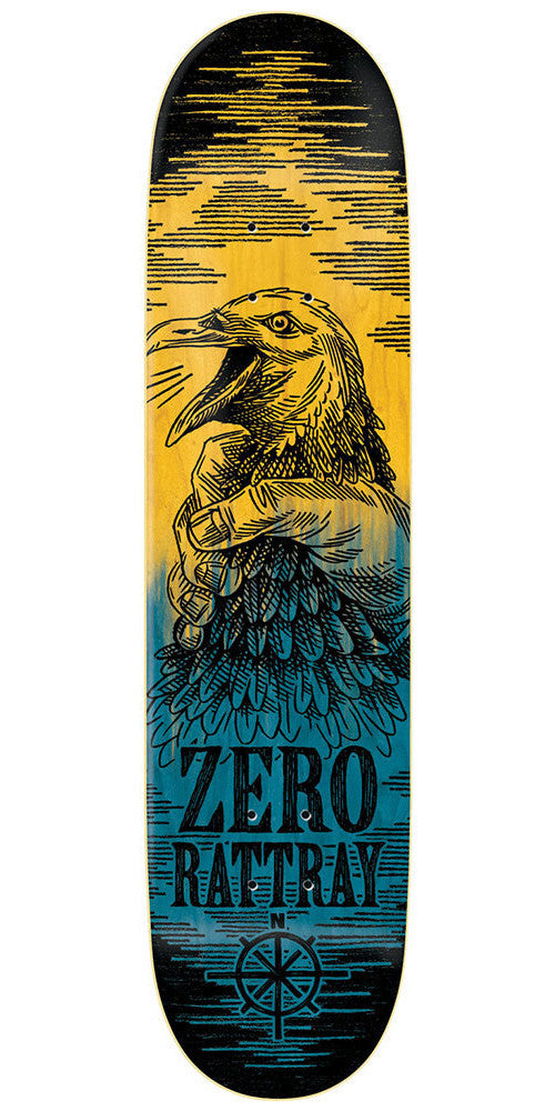 Zero John Rattray Deliverance Series R7 - Yellow/Blue - 8.25 - Skateboard Deck