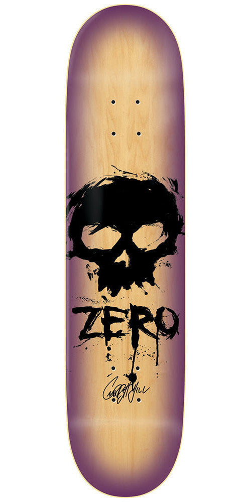 Zero Garrett Hill Signature Blood Skull R7 - Natural - 8.25 - Skateboard Deck