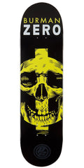 Zero Burman Symbolism P2 - Black/Yellow - 8.25 - Skateboard Deck
