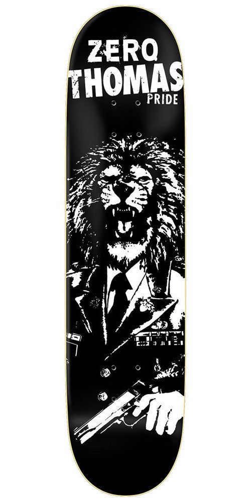 Zero Thomas Pride R7 - Black/White - 8.125 - Skateboard Deck